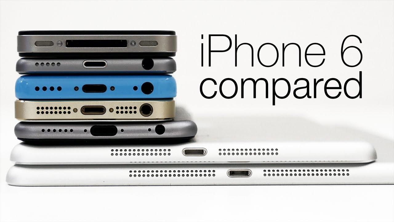 Ipad Air Vs Iphone 5s Video