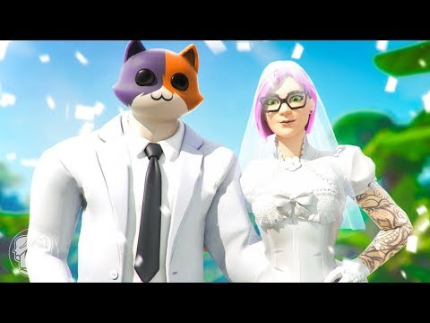 MEOWSCLES GETS MARRIED?! (A Fortnite Short Film)