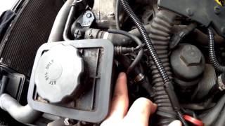 E46 320d 136hp -  VP44 fuel pump removal