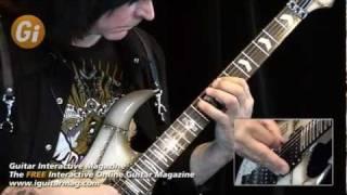 Michael Angelo Batio - Free Guitar Lesson - Alternate Picking - Guitar Interactive Magazine