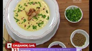 Кукурудзяний крем-суп з куркою - Правильний Сніданок