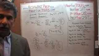 TEAS V, Math Day 53, p107, One Variable Equations, Nursing Online Test Prep Tutor GRE, GMAT, SAT