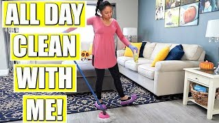 Ultimate All Day Clean With Me! | Exteme Cleaning Motivation