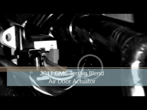 2011 GMC Terrain Blend Door Replacement