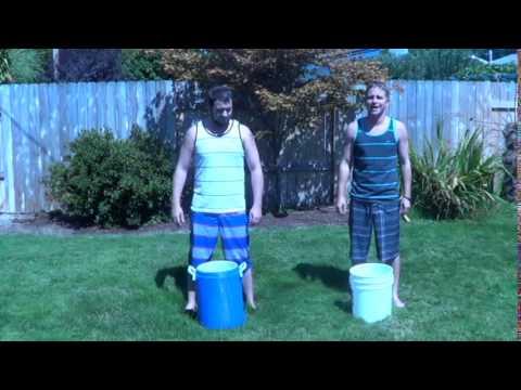 THE DONKEY SHOW- ALS ICE BUCKET CHALLENGE - DREW AND MARCUS