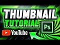 Adobe Photoshop: YouTube Thumbnail Tutorial