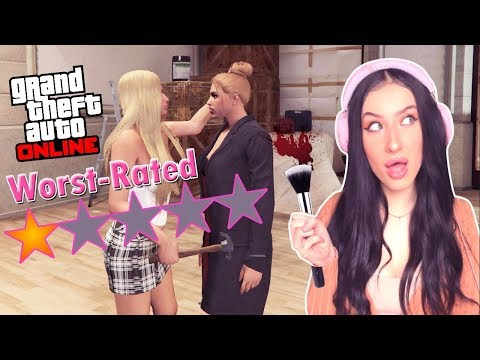 I AM THE WORST MAKEUP ARTIST IN LOS SANTOS! | GTA 5 Roleplay
