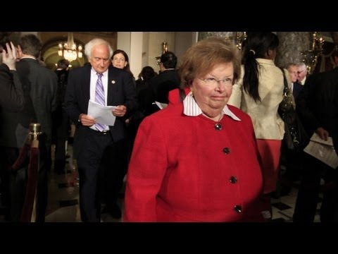 Senator Barbara Mikulski marks milestone for women