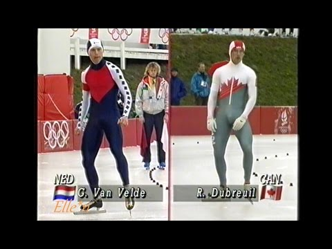 Winter Olympic Games Albertville 1992 - 500 m Dubreuil - Van Velde