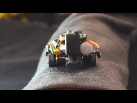 These tiny, wearable robots can cling to your clothes and drive around your body