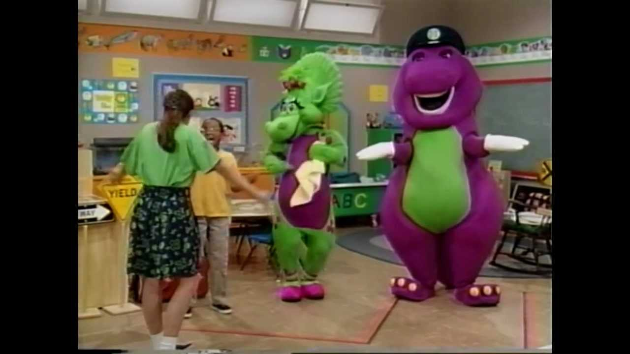 Barney Playing It Safe Hd 720p Youtube