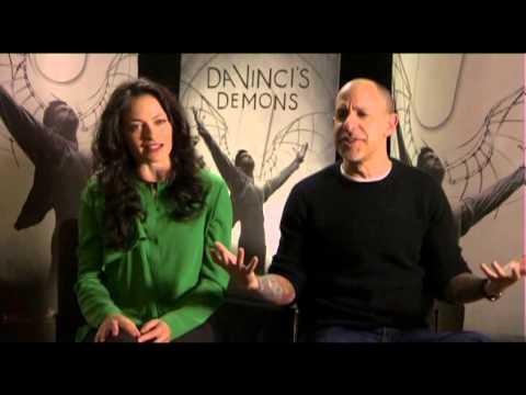 "David S. Goyer & Lara Pulver on ""Da Vinci"