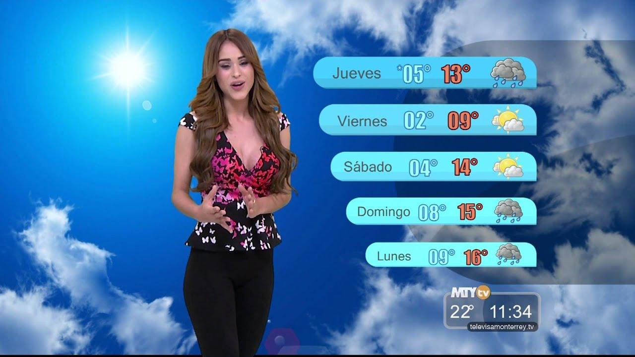 Gente Regia - El Clima con Yanet García 04 de Marzo 2015 ...