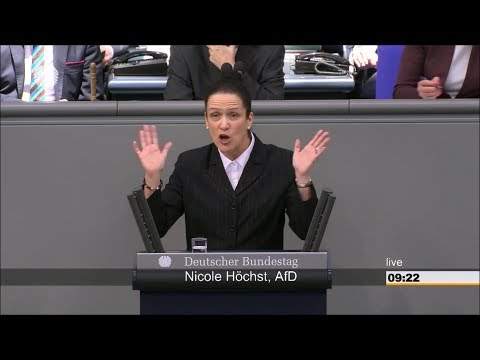 Best of Bundestag 17. Sitzung 2018