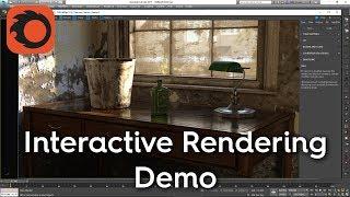 Corona Interactive Rendering Demo