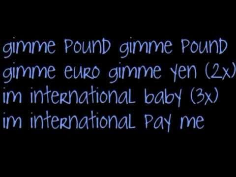 Usher - Pay me lyrics