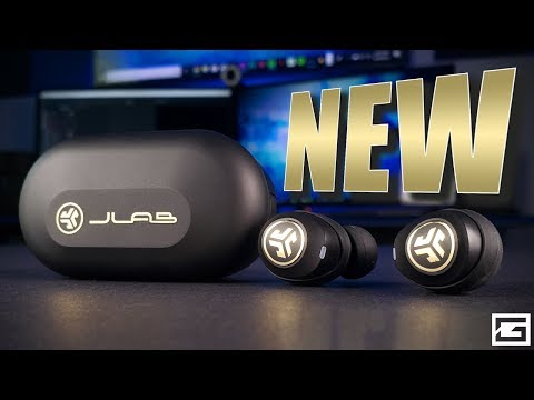 The NEW JLab JBuds Air Icon True Wireless Earbuds
