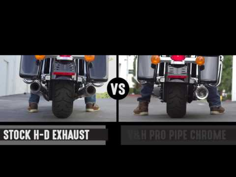 Baggers Sound-Off: Vance and Hines Chrome Pro Pipe 2-into-1