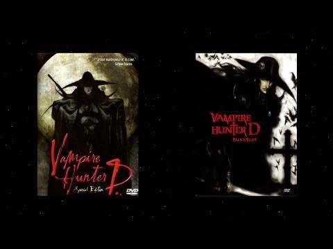 The Vampire Hunter D Saga Movie/DVD Review