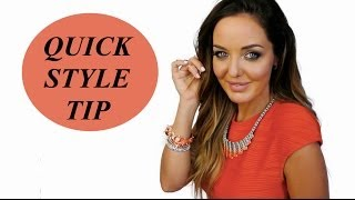 QUICK STYLE TIP | AMBER RENAE