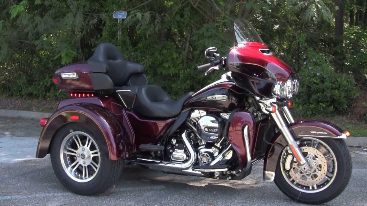 New 2014 Harley Davidson FLHTCUTG Tri Glide Trike Water Cooled ...