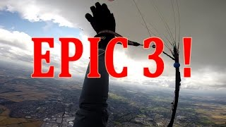 EPIC 150 KM PARAGLIDING FLIGHT HD - 100km/h MAX TOP SPEED - PART 3