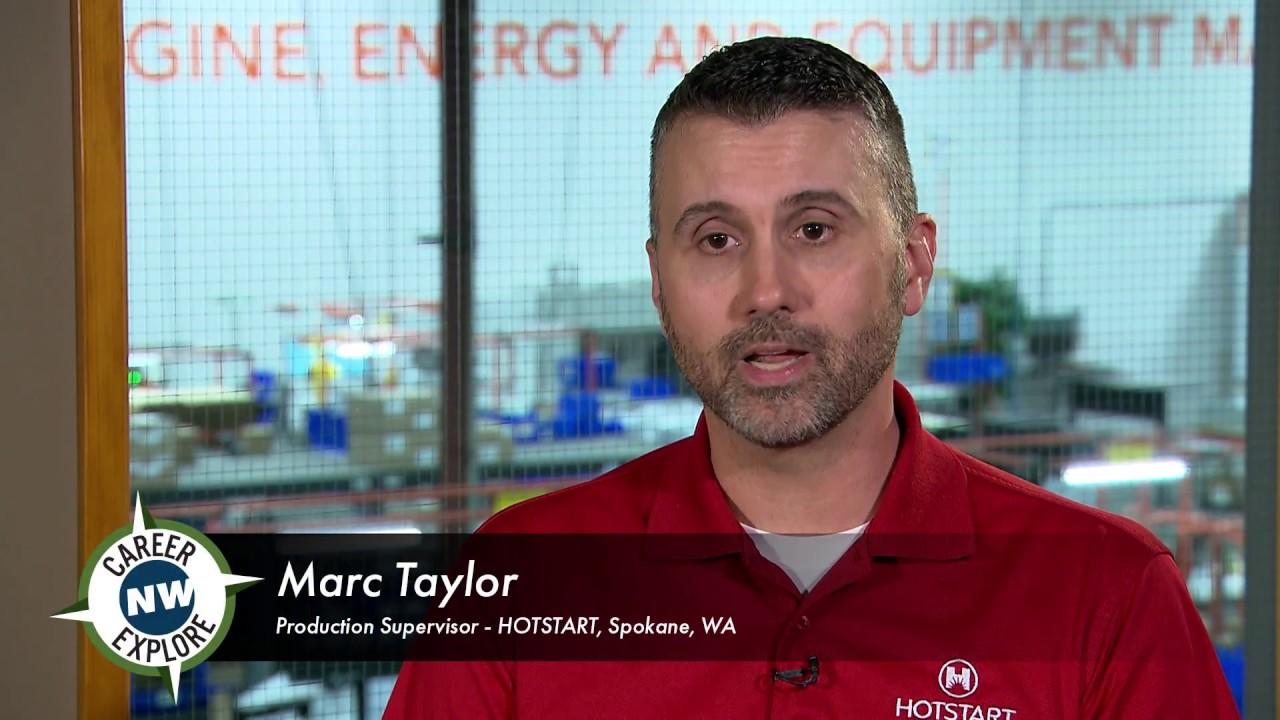 CareerExplore NW - Production Supervisor - Marc T
