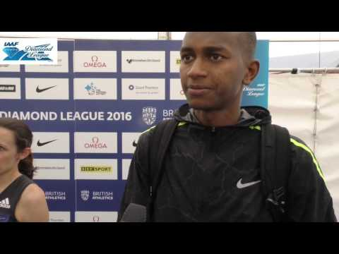 "Mutaz Barshim: ""You can't use the same key for every door...  I'm happy today with the result"""