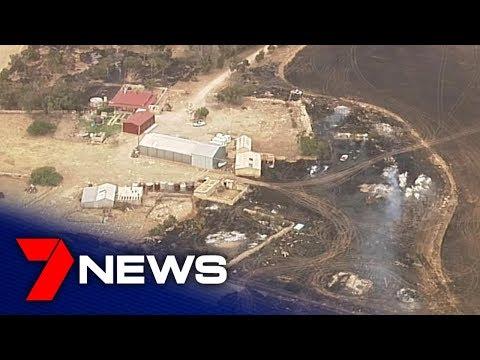 Edithburgh Fire Damage | South Australia | 7NEWS