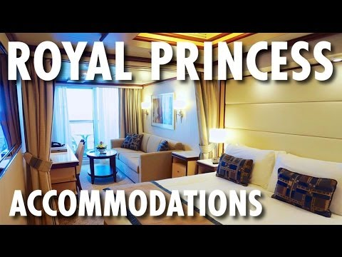 Royal Princess Tour & Review: Accommodations ~ Princess Cruises ~ Cruise Ship Tour & Review