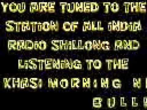 KHASI MORNING NEWS BULLETIN FROM THE STATION OF ALL INDIA RADIO SHILLONG  08.01.2019