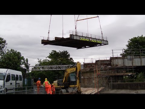 Railway Bridge Removal - Stamp End Lincoln