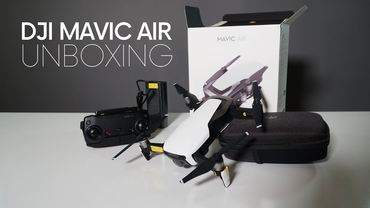Dji Mavic Air Unboxing Youtube
