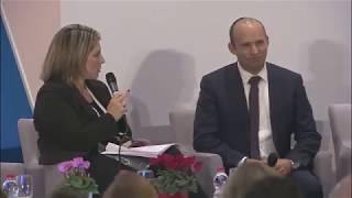 השר בנט בראיון לטל שניידר - ועידת ישראל לעסקים של גלובס