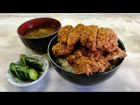 私の食べ日記・カツ丼編寄居名物タレカツ丼を食す洋食つばき