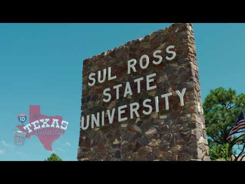 The Texas Bucket List - The Desk at Sul Ross University in Alpine