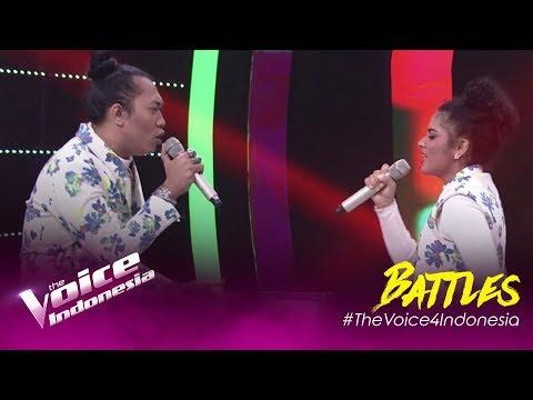 Senorita (Shawn Mendes, Camila Cabello) - Aya Vs Sakthi   Battles   The Voice Indonesia GTV 2019