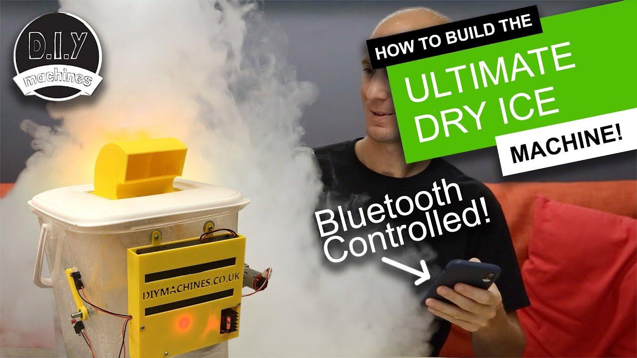 Make The Ultimate Bluetooth Dry Ice Fog Machine 3d Printed Elegoo Arduino Diy Halloween