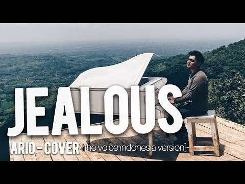 Ario Setiawan - Jealous [ Labrinth ] Cover Video Lyric, The Voice Indonesia Version