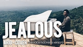Video Ario Setiawan - Jealous [ labrinth ] cover video lyric, the voice indonesia version download MP3, 3GP, MP4, WEBM, AVI, FLV Agustus 2018