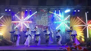 การแสดงโรงเรียนติกาหลังนาฏศิลป์ไทย