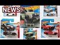 MORE 2018 NEW HOT WHEELS Land Rover FORD Camaro Porsche  ...