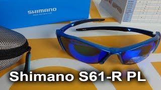 Очки Shimano S61-R PL как заменять стекла - обзор от velomoda