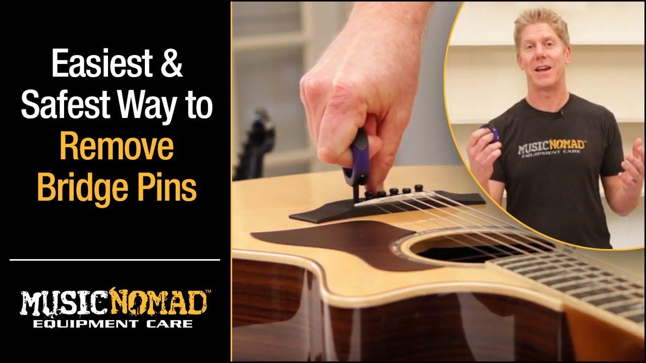 Akustische Gitarre String Nail Peg Ziehen Puller Bridge Pin Remover Bronze LRSPF