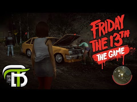 FRIDAY THE 13th GAME | WORLD RECORD ESCAPE TIME?!