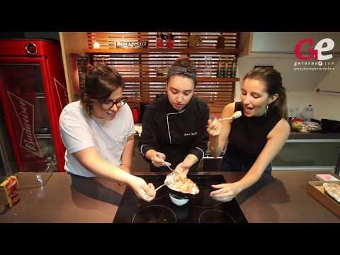 Isabela Carvalho ensina receita de ovo de colher