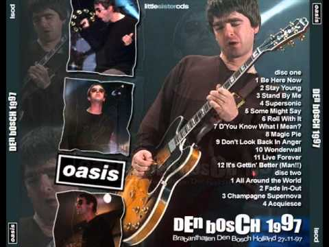 All around the world - Oasis (Live at Den Bosch 1997)