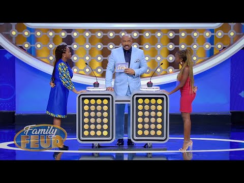 Who comments on CROOKED shoes? | Family Feud Ghana