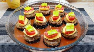 Даже кушать жалко! Вот как нужно готовить БАКЛАЖАНЫ! Запечённый картофель с баклажанами по ТУРЕЦКИ!