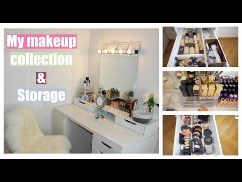 Bàn makeup của Trúc - My makeup collection & Storage ♡Truc's hobbies♡